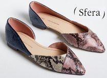 Sfera Casual Style Python Slip-On Shoes