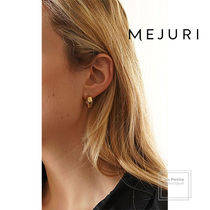 MEJURI Casual Style Handmade Party Style 18K Gold Elegant Style
