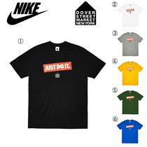 Nike Street Style Collaboration Short Sleeves T-Shirts