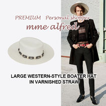Saint Laurent Straw Hats
