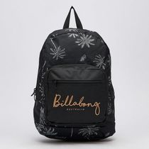 Billabong Tropical Patterns Casual Style Unisex Street Style A4