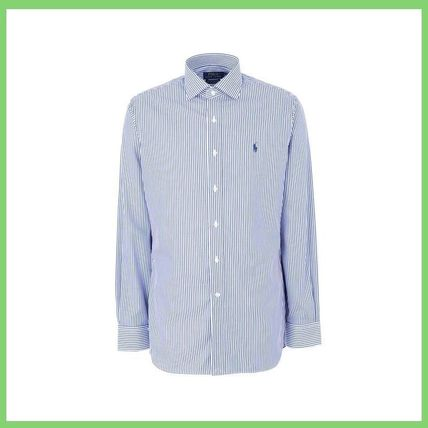 POLO RALPH LAUREN Shirts Stripes Long Sleeves Cotton Shirts