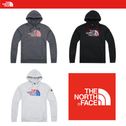 THE NORTH FACE Hoodies Long Sleeves Cotton Hoodies