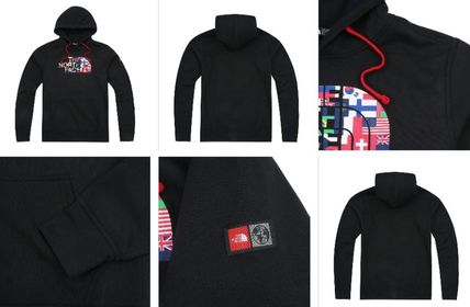 THE NORTH FACE Hoodies Long Sleeves Cotton Hoodies 8