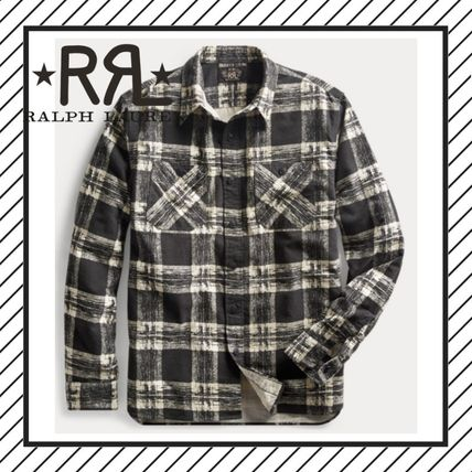 Other Check Patterns Street Style Long Sleeves Cotton Shirts