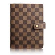 Louis Vuitton DAMIER Medium Ring Agenda Cover
