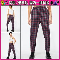 DOLLS KILL Other Check Patterns Casual Style Cropped & Capris Pants