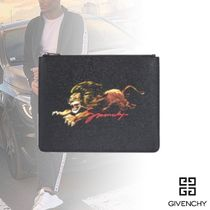GIVENCHY Plain Other Animal Patterns Clutches