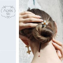 Apres Ski Flower Elegant Style Hair Accessories