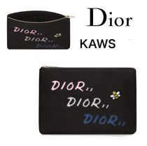 Christian Dior Nylon Collaboration Other Animal Patterns Clutches