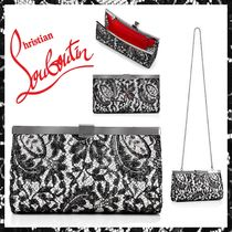 Christian Louboutin 3WAY Chain Party Style Clutches