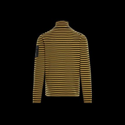 MONCLER Knits & Sweaters Stripes Wool Long Sleeves Knits & Sweaters 2