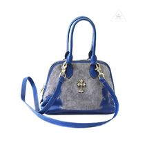 CHROME HEARTS Suede 2WAY Elegant Style Handbags