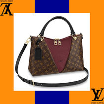 Louis Vuitton Monogram Casual Style Canvas 2WAY Handmade Totes