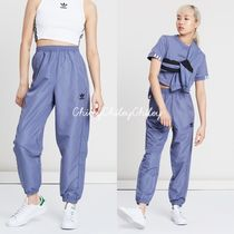 adidas Casual Style Nylon Street Style Long Pants