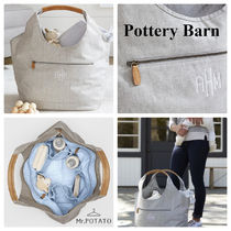 Pottery Barn Casual Style Plain Oversized Totes
