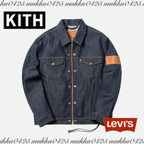 KITH NYC Unisex Denim Street Style Collaboration Plain Jackets