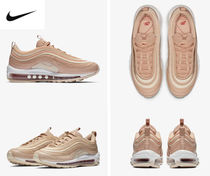 Nike AIR MAX 97 Stripes Platform Round Toe Casual Style Street Style