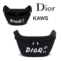 Christian Dior Nylon Collaboration Other Animal Patterns Hip Packs