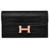 HERMES CONSTANCE Long Wallets