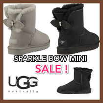 UGG Australia CLASSIC MINI Casual Style Special Edition With Jewels Boots Boots
