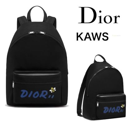 ced40126398b ... Christian Dior Backpacks Nylon Street Style Collaboration Other Animal  Patterns ...