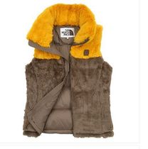THE NORTH FACE Fur Blended Fabrics Street Style Medium Down Jackets