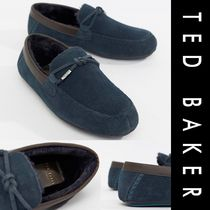 TED BAKER Fur Plain U Tips Oxfords