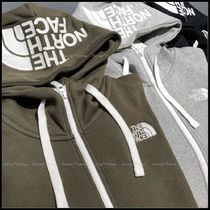 THE NORTH FACE Unisex Street Style Long Sleeves Cotton Hoodies