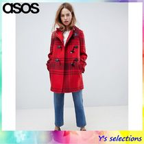 ASOS Other Check Patterns Duffle Coats