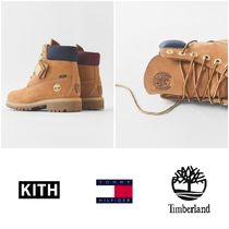 KITH NYC Unisex Street Style Collaboration Engineer Boots