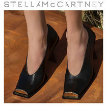 Stella McCartney Square Toe High Heel Pumps & Mules