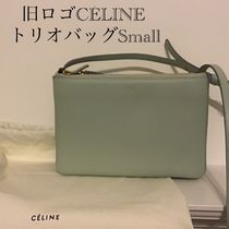 CELINE Plain Leather Shoulder Bags