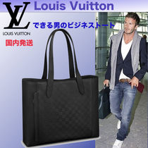 Louis Vuitton DAMIER INFINI Leather Totes