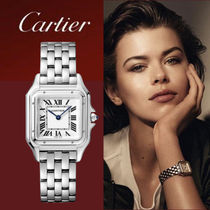 Cartier SANTOS Metal Square Analog Watches