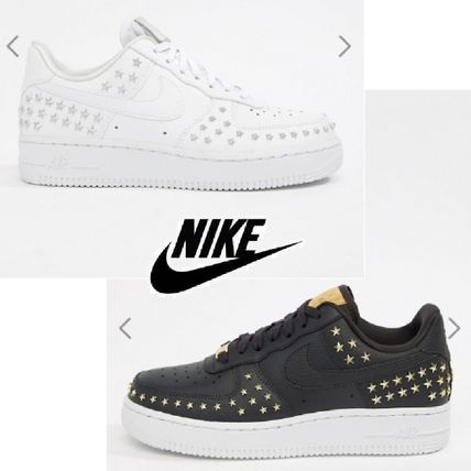 Nike AIR FORCE 1 2019 SS Studded Street Style Sneakers by R M - BUYMA fef34eca50da