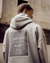 ANDERSSON BELL Pullovers Unisex Street Style Long Sleeves Oversized Hoodies