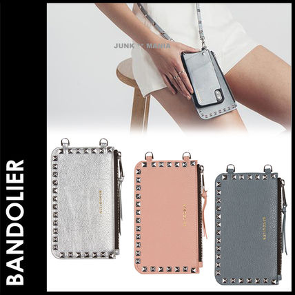 Studded Leather Smart Phone Cases
