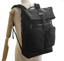 TUMI Unisex Nylon A4 Plain Backpacks