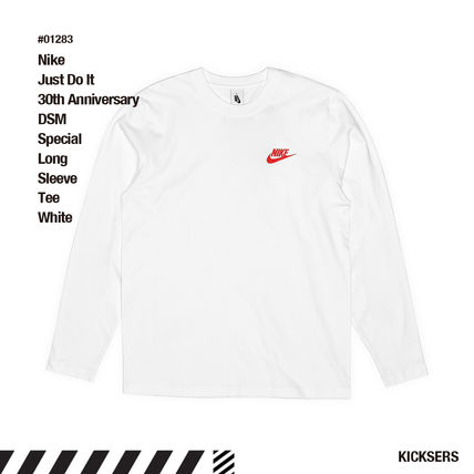 Nike More T-Shirts Unisex Street Style Collaboration T-Shirts