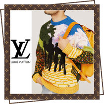 Louis Vuitton U-Neck Long Sleeves Knits & Sweaters