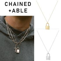 Chained & Able Unisex Street Style Plain Necklaces & Chokers