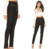 Stripes Casual Style Long Skinny Pants