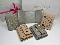 Jimmy Choo Leather Folding Wallets