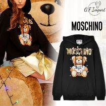 Moschino Long Sleeves Other Animal Patterns Cotton Long