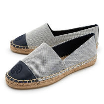 Tory Burch Other Check Patterns Round Toe Casual Style Low-Top Sneakers