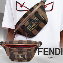 FENDI Stripes Hip Packs