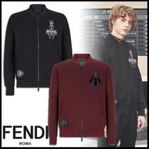 FENDI Short Street Style Plain Jackets