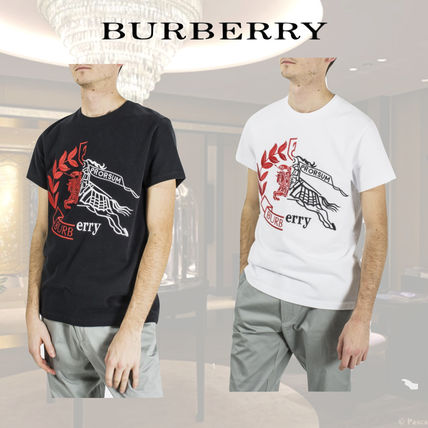 Burberry More T-Shirts Cotton Short Sleeves T-Shirts