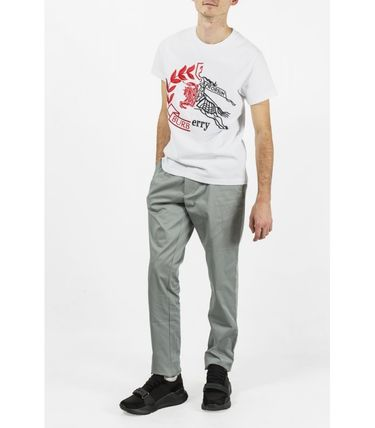 Burberry More T-Shirts Cotton Short Sleeves T-Shirts 6